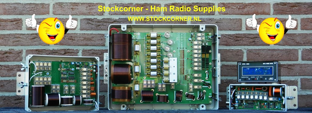 Stockcorner Ham Radio Supplies supporter of PI4COM